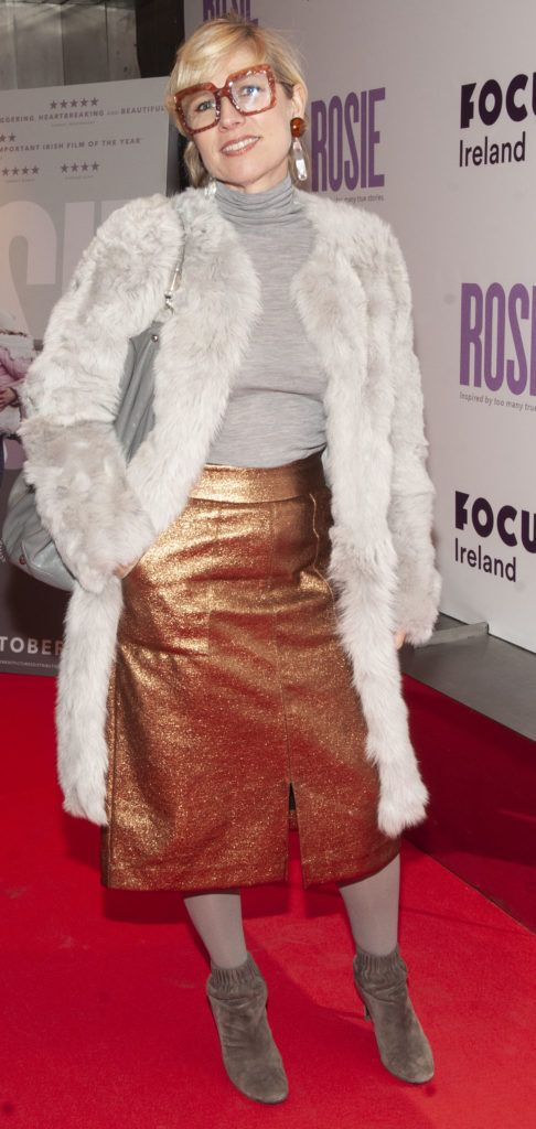 Sonya Lennon pictured at the European premiere of 'Rosie' at the Light House Cinema, Dublin. Photo: Patrick O'Leary