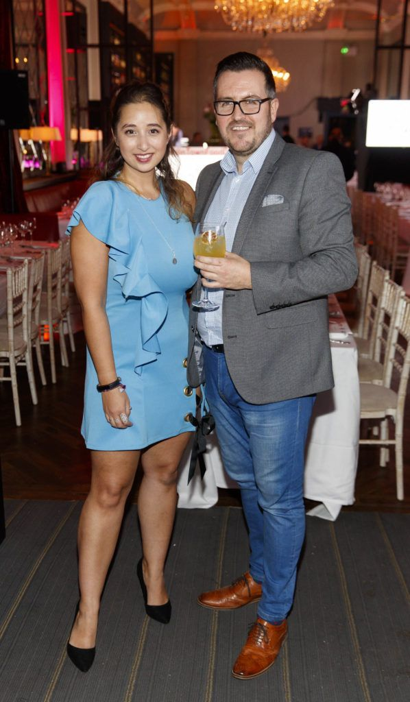 Nirina Plunkett and Clyde Carroll pictured at the official launch of DublinTown's inaugural Food & Drink Festival on October 1st 2018. Picture Andres Poveda