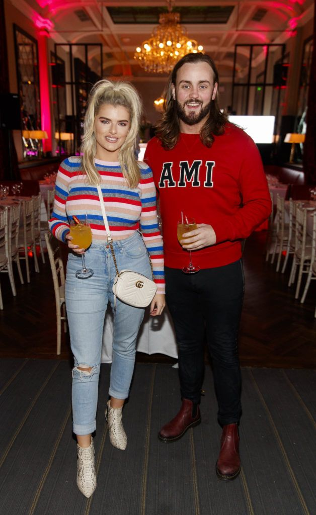 Ashley Kehoe and Chris Mellon pictured at the official launch of DublinTown's inaugural Food & Drink Festival on October 1st 2018. Picture Andres Poveda
