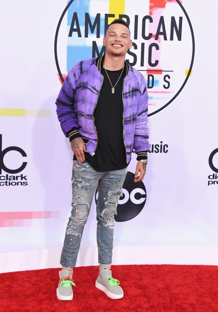Kane Brown attends the 2018 American Music Awards at Microsoft Theater on October 9, 2018 in Los Angeles, California.  (Photo by Jon Kopaloff/FilmMagic)