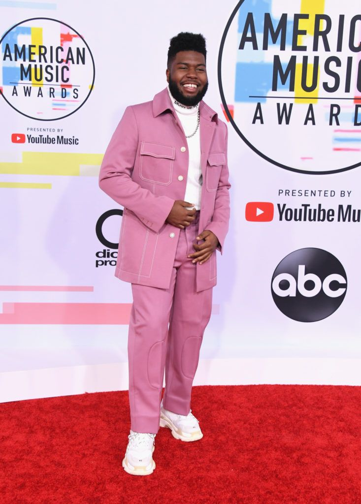 Khalid attends the 2018 American Music Awards at Microsoft Theater on October 9, 2018 in Los Angeles, California.  (Photo by Jon Kopaloff/FilmMagic)