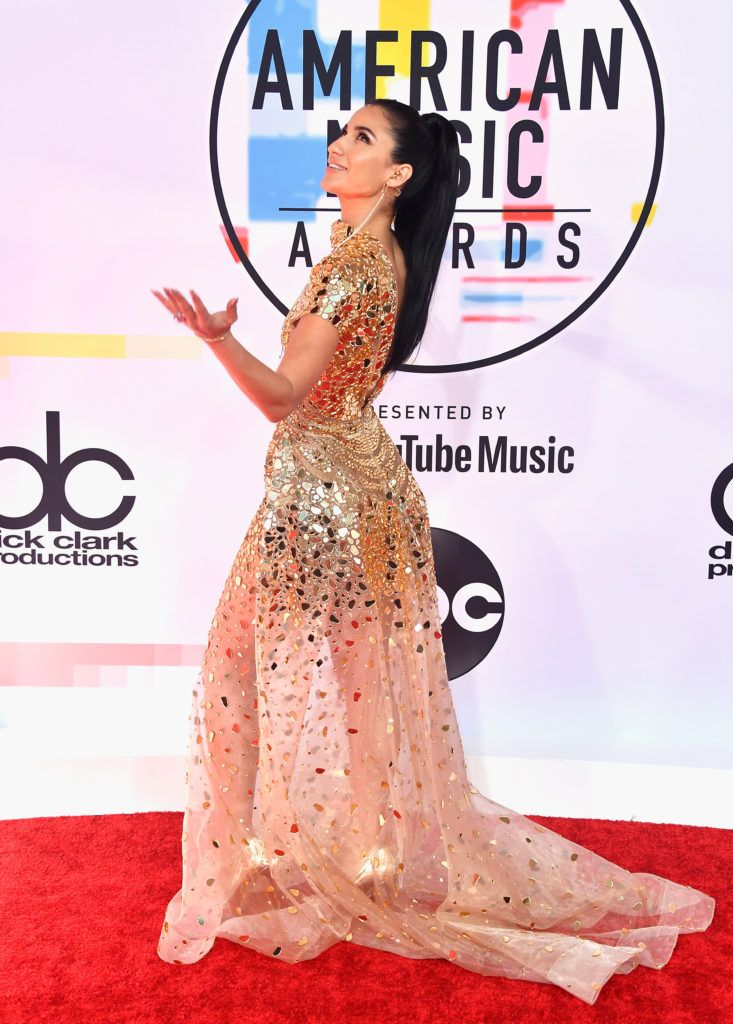 Lexy Panterra attends the 2018 American Music Awards at Microsoft Theater on October 9, 2018 in Los Angeles, California.  (Photo by Frazer Harrison/Getty Images)