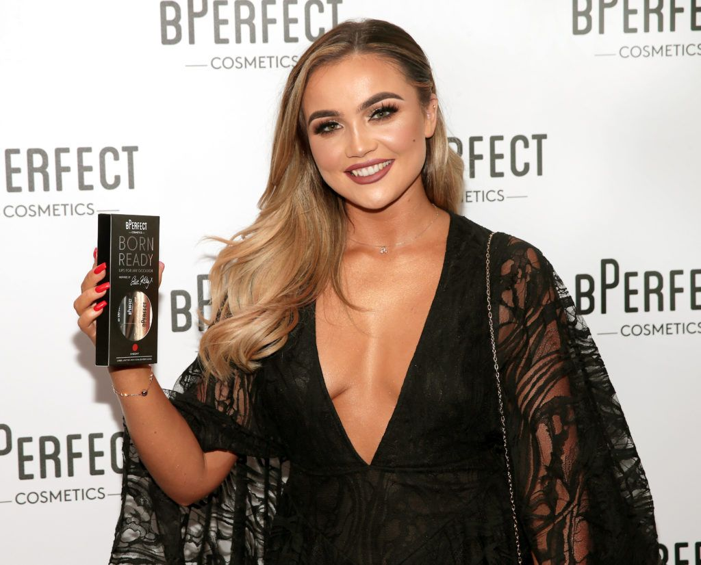 Ellie Kelly pictured at launch of the BPerfect Cosmetics Born Ready Lip Kits in partnership with MUA Ellie Kelly at Twenty Two, Dublin. Photo: Brian McEvoy