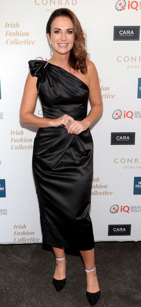 Lorraine Keane at the 2018 Irish Fashion Collective show in aid of Saint Joseph's Shankill, at the Conrad Dublin. Photo: Brian McEvoy