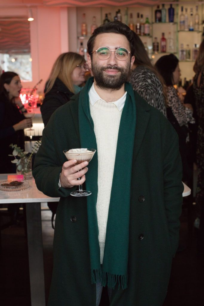 Conor Merriman pictured at the launch of Lily O'Brien's 'Share Wisely' bags. Photo: Anthony Woods