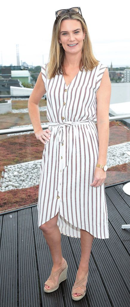 Lynda Magee pictured at the launch of WaterWipes Facial Wipes at the Marker Hotel, Dublin. Picture: Brian McEvoy