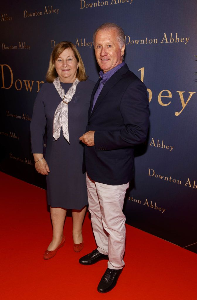 Parent of Downton Abbey's Allen Leech, Kay and David Leech pictured at the Universal Pictures Irish premiere screening of DOWNTON ABBEY at The Stella Theatre, Rathmines. Releasing in cinemas across Ireland from this Friday September 13th, starring the original cast, the worldwide phenomenon DOWNTON ABBEY, becomes a grand motion picture event. Picture Andres Poveda