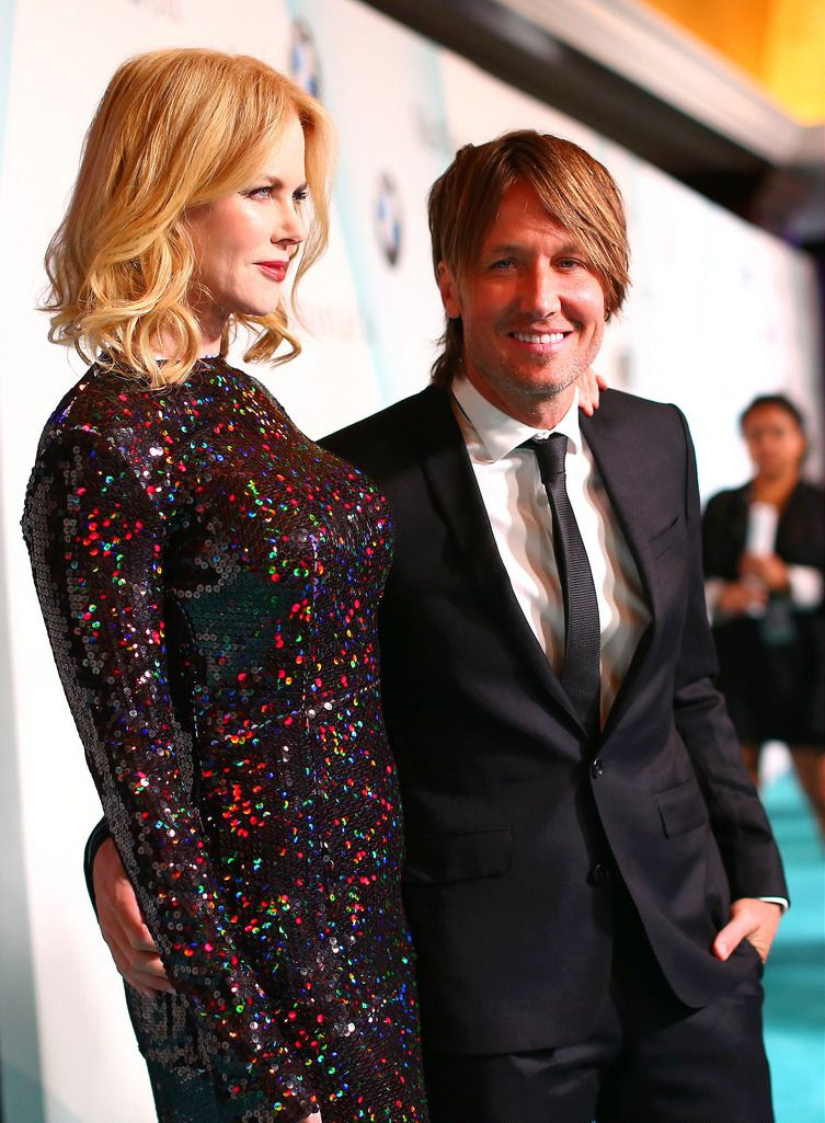 CENTURY CITY, CA - JUNE 16: Honoree Nicole Kidman (L) and recording