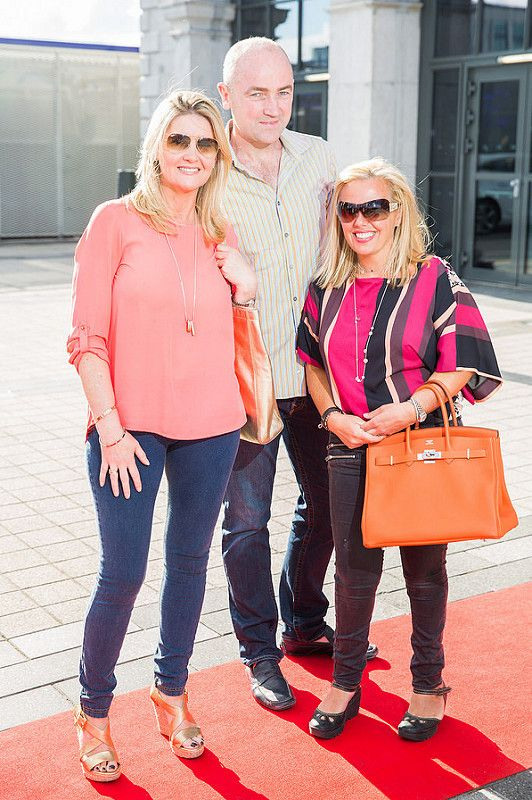 Picture shows from left Elaine O'Neill; Frank and Orlaith O'Callaghan;  celebrating the renaming of the Private Members' Club at 3Arena, the 1878 (formerly Audi Club).The launch of the 1878 took place on Saturday June 21st when Fleetwood Mac took to the main stage at the 3Arena and played to a sold out audience.Pic:Naoise Culhane-no fee The new name, the 1878, refers to the year the original building housing 3Arena was built, previously used as a rail terminus for the Midland and Great Western Railway Company. Respect for history is important and the new name encompasses the timeless qualities of luxury, style and elegance that 3Arena Private Members' Clubs pride themselves on, the qualities Members expect from their Club experience. With a nod to the building's past as a point of departure and a reference to the journey through history it has made, the 1878 continues to provide the backdrop to journeys – now the musical and inspirational journeys created by the world-class acts, performers and musicians welcomed to 3Arena, which The 1878 members enjoy in uniquely luxurious fashion. Pic:Naoise Culhane-no fee