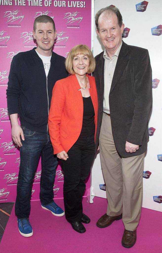 Andy McAnally, Billie McAnally and Aonghus McAnally   Pic:  Brian McEvoy Photography.