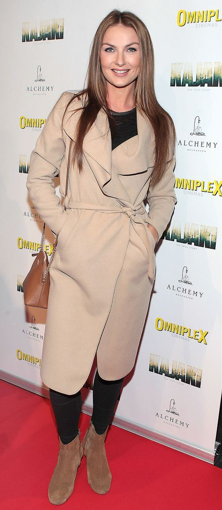 Laura Scanlon at the Irish premiere screening of Kajaki at Omniplex in Rathmines Dublin.Picture:Brian McEvoy