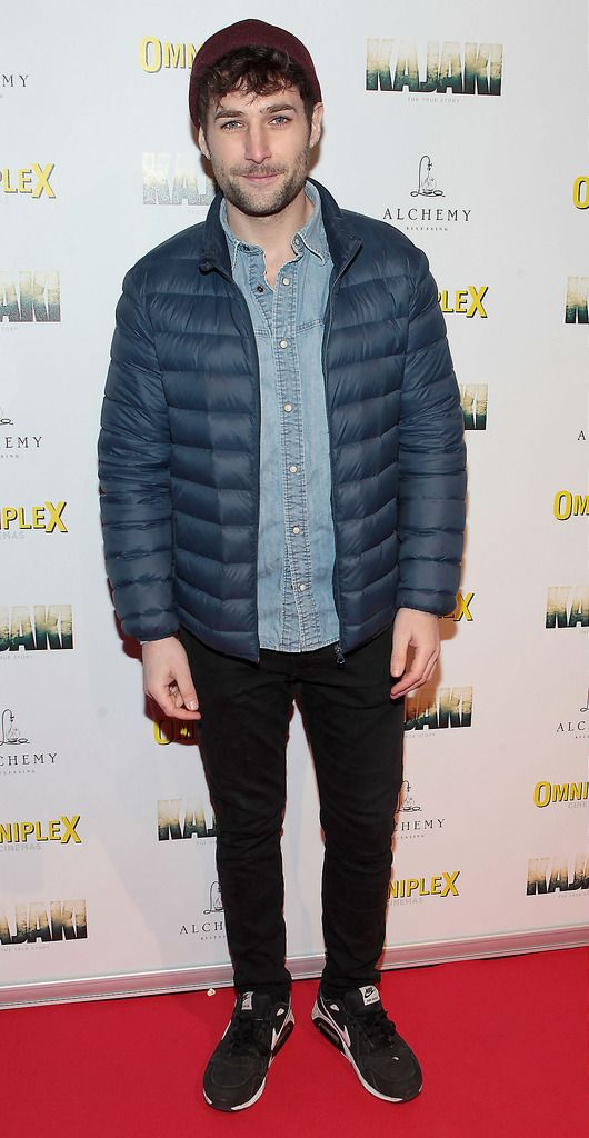 Sam Homan  at the Irish premiere screening of Kajaki at Omniplex in Rathmines Dublin.Picture:Brian McEvoy.