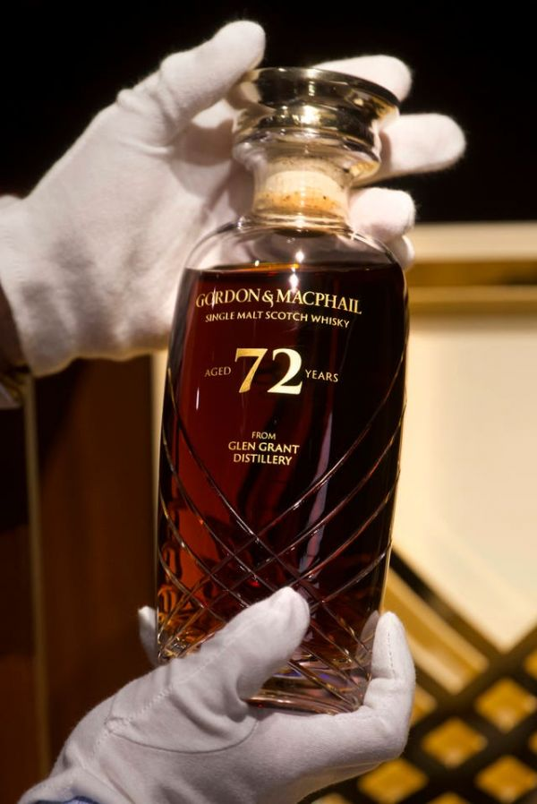 Rare 72-year-old whisky from Scotland to be auctioned in Hong Kong