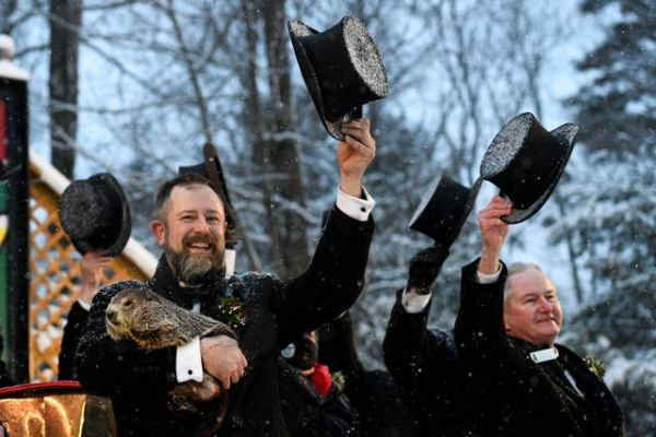 The 135th Groundhog Day celebration takes place