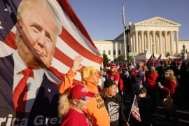 Stabbing And Arrests As Trump Supporters Clash With Rivals During Protests
