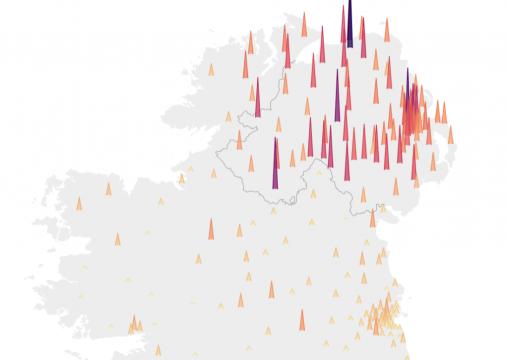 Coronavirus Tracker Map Ireland Where The Latest Cases Have Spread