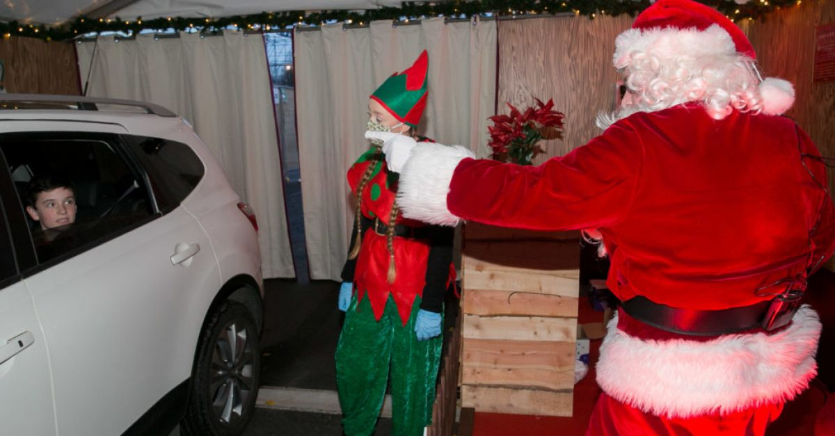 Drive-In Santa's Grotto brings Christmas to the RDS | BreakingNews.ie