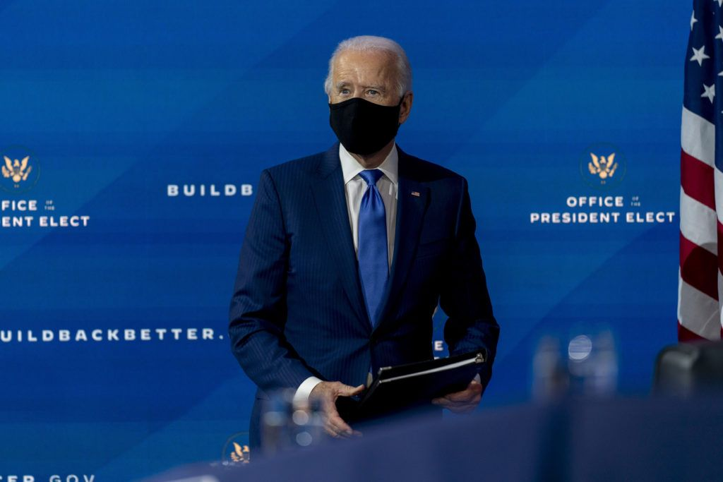 Biden to call for 100 days of mask-wearing