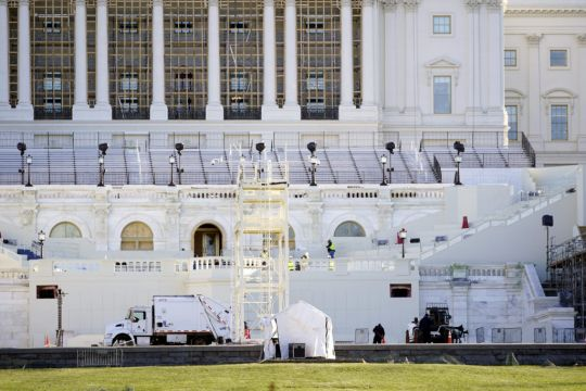 Capitol Police Chief Condemns Protest And Identifies Woman Who Died