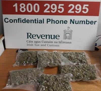 Cannabis Worth €22,000 Seized At Shannon Airport