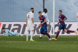 Real Madrid's Title Hopes Suffer Further Blow With Shock Home Defeat To Levante