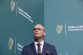 Coveney Calls For 'United Message' Against Israeli-Palestinian Violence