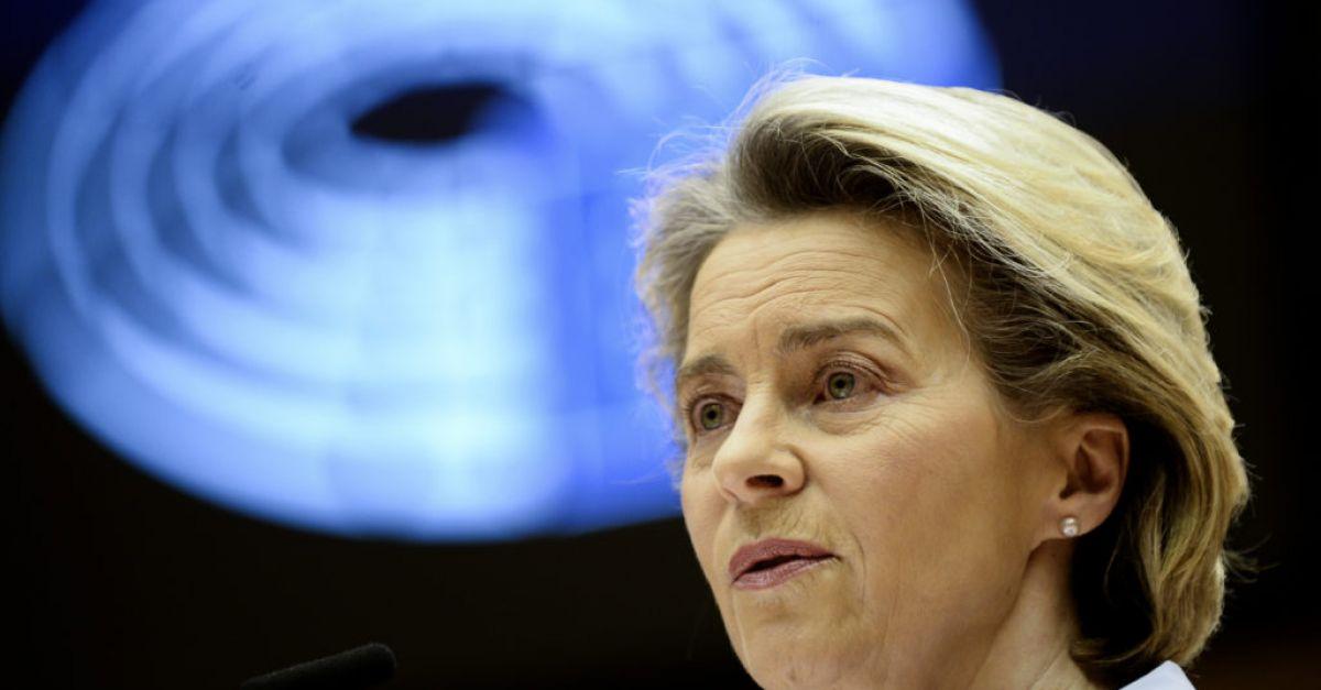 Von der Leyen supports donating EU vaccines to healthcare workers in Africa