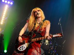 Singer Courtney Love Receives Coronavirus Vaccine In The Uk