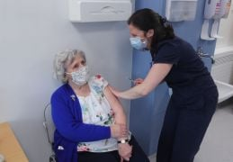 Waterford Great-Grandmother (93) Among First To Receive Covid Vaccine In The Community