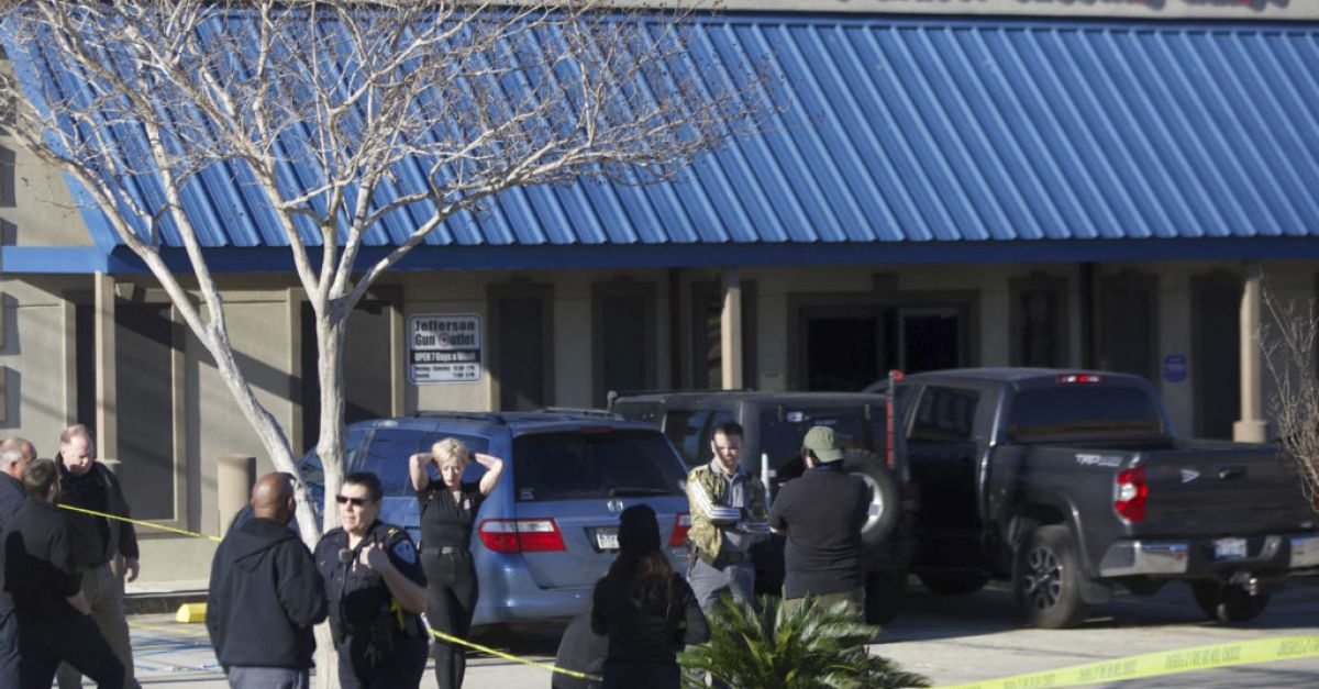 Three people dead after gun store shooting in New Orleans