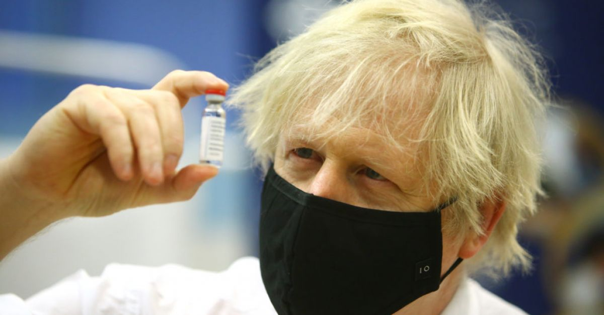 Boris Johnson pledges to offer all UK adults a Covid vaccine by July 31st | BreakingNews.ie