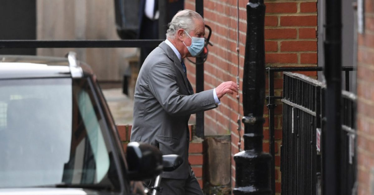 Prince Charles wanted to visit Philip due to extended stay in hospital