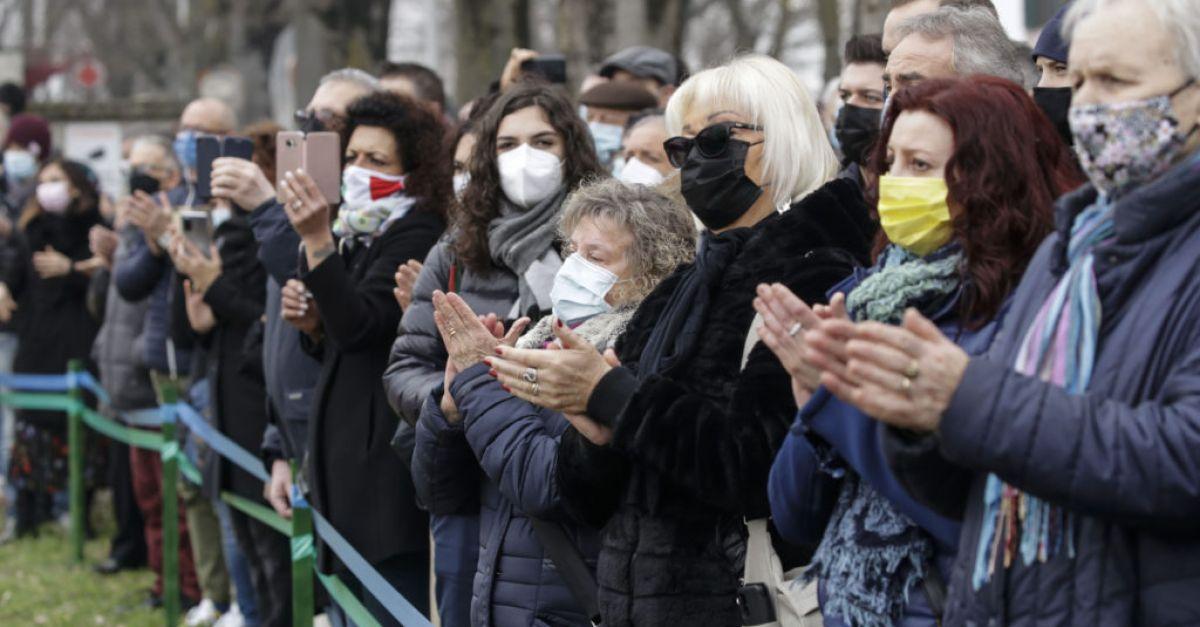 Italy marks a year since first coronavirus death