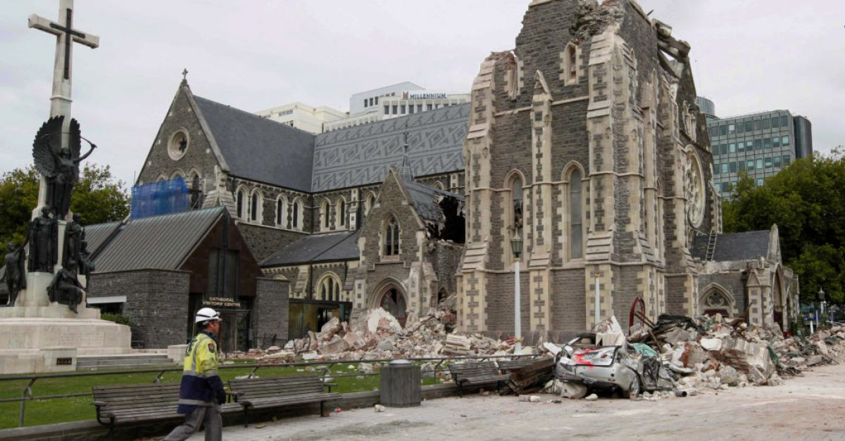 New Zealand marks 10th anniversary of Christchurch earthquake