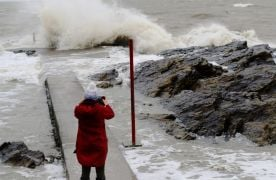 Met Éireann Issues Warning For Strong Winds And Heavy Rain