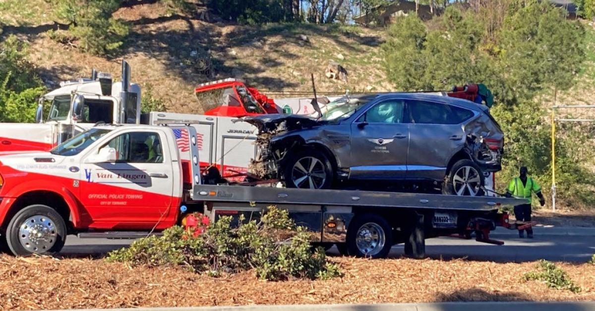 Tiger Woods seriously injured in California crash