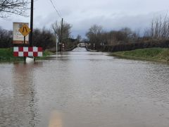 Major Roads In South Of Country Remain Flooded