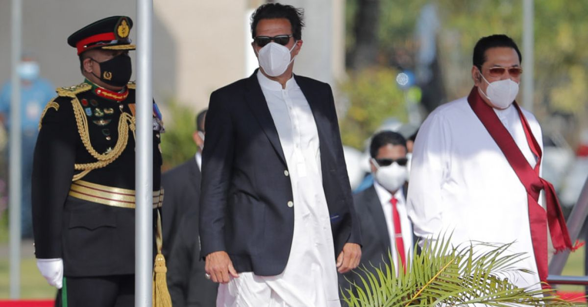 Imran Khan invites Sri Lanka's Buddhists to visit Pakistan