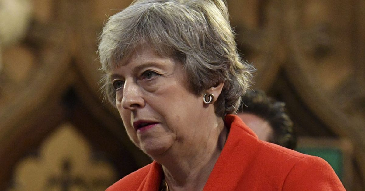 Former British prime minister Theresa May gets first Covid vaccine