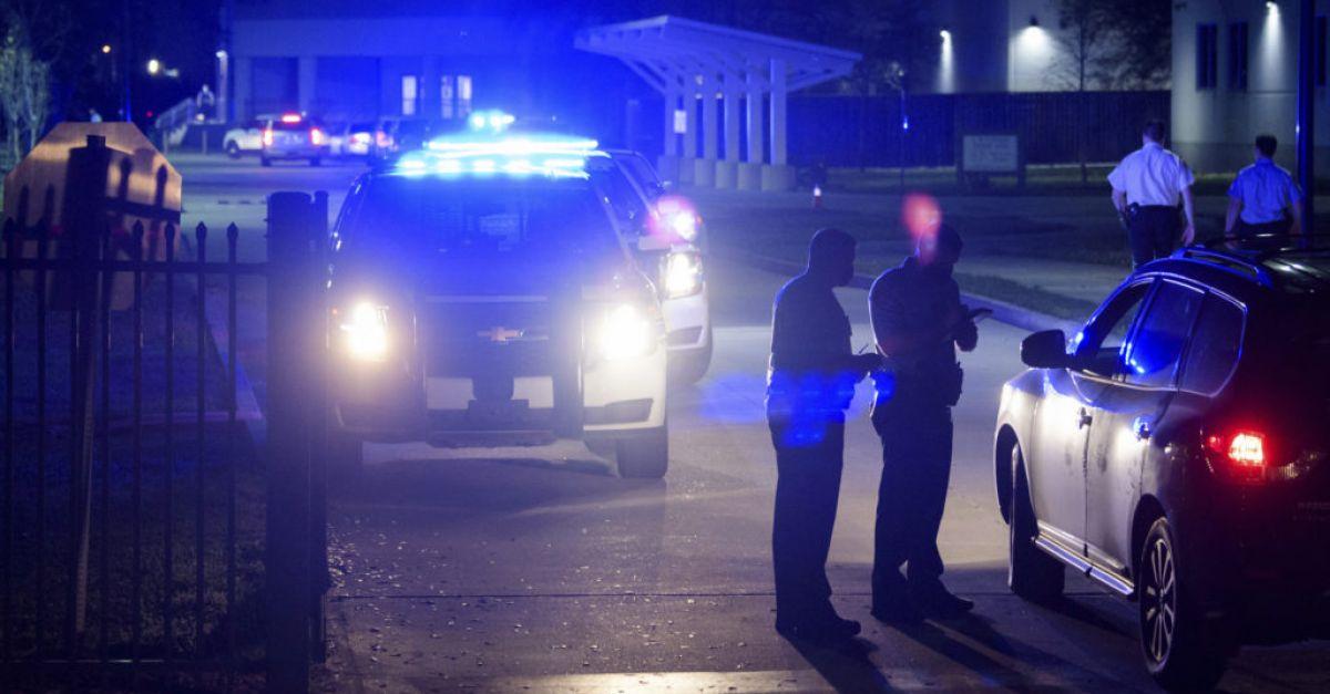 Officer shot dead outside New Orleans high school basketball game