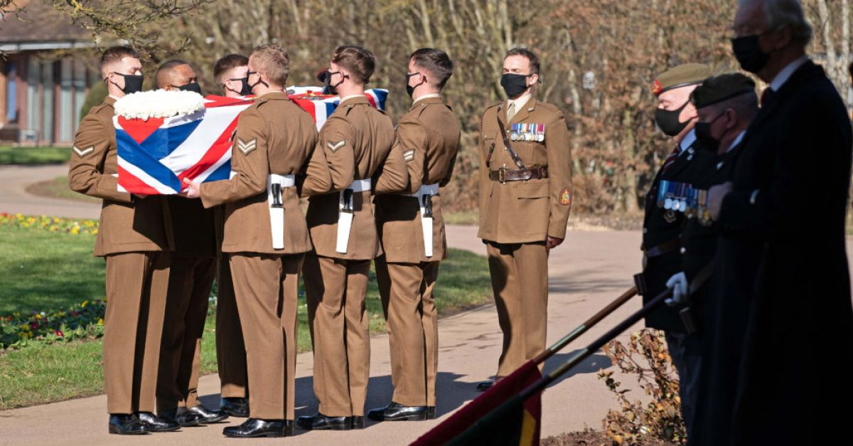 Captain Sir Tom Moore's spirit lives on, family tells funeral service