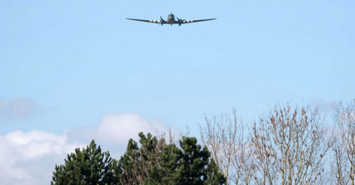 In Pictures: Plane fly-past tribute as Captain Sir Tom Moore laid to rest