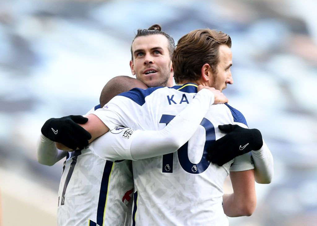 Gareth Bale bags a brace as he inspires Tottenham to victory against Burnley