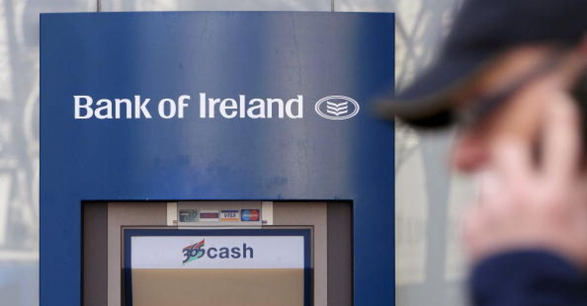 Bank of Ireland records €465m pre-tax profit for first half of 2021