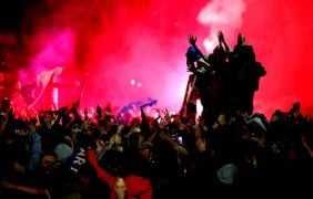Rangers Remind Celebrating Fans To Adhere To Lockdown Rules
