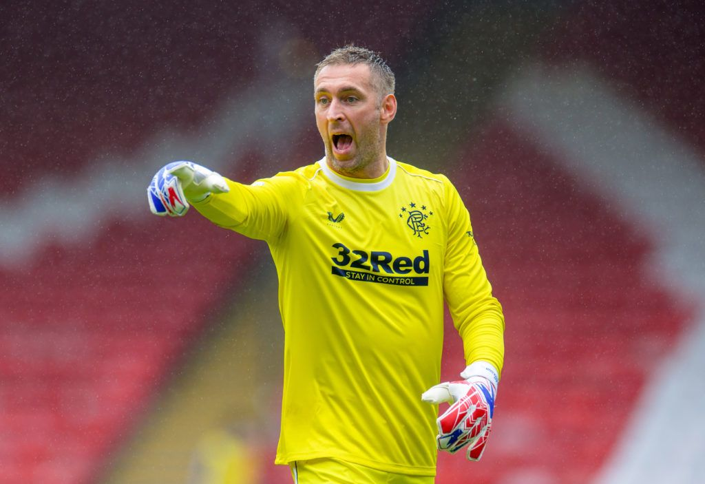 Steven Gerrard urges Allan McGregor to sign Rangers deal after Prague heroics