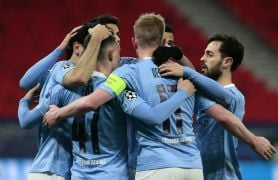 Man City Brush Aside Borussia Monchengladbach To Progress In Champions League