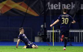Orsic Hat-Trick Helps Dinamo Zagreb Dump Tottenham Out Of Europa League