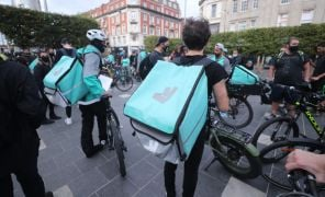 Deliveroo Shares Close Down 26% On First Day Of Trading