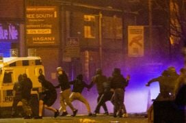 Unrest In Newtownabbey Amid Fears Of Another Night Of Violence In Ni